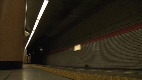 Tokyo Subway 01 Stock Video Footage