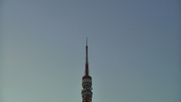 Tokyo Tower 03 PanUpDown Stock Video Footage
