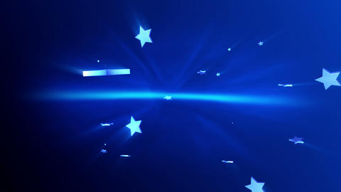 Stars background Stock Video Footage