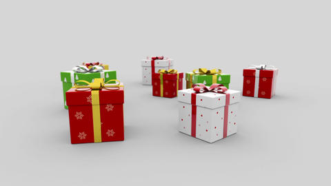 Gift boxes Animation