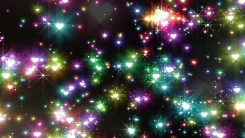 Color Sparkle EhFc HD Stock Video Footage