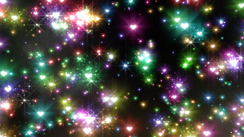 Color Sparkle EhFc HD Stock Video Footage