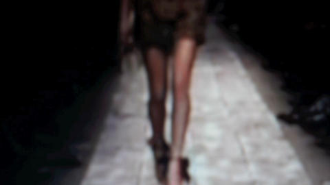 Catwalk11 Stock Video Footage