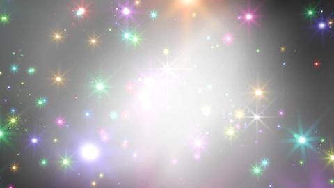 Color Sparkle BkCc HD Stock Video Footage
