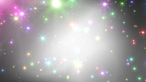 Color Sparkle BkCc HD Animation