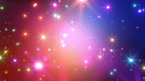 Color Sparkle BkCs HD Stock Video Footage
