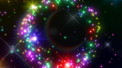 Color Sparkle CcFc HD Stock Video Footage