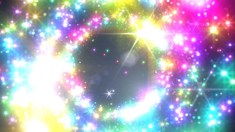 Color Sparkle DcFs HD Stock Video Footage