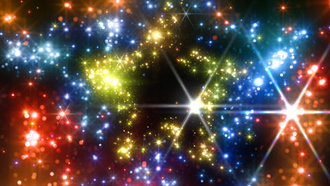Color Sparkle DsFc HD Stock Video Footage