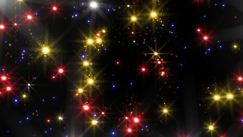 Color Sparkle BkBc HD Stock Video Footage
