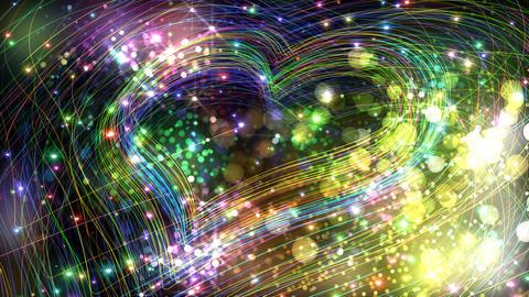 Color Sparkle FhFc HD Stock Video Footage