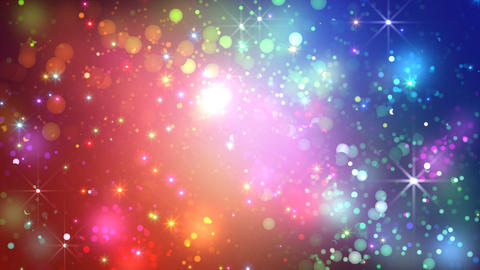 Color Sparkle FkCc HD Stock Video Footage