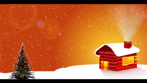 Happy holidays Animation