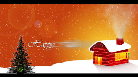 Happy holidays Stock Video Footage