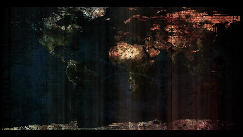 world map Back Stock Video Footage