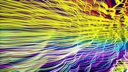Multicolored Strings, Loop Stock Video Footage