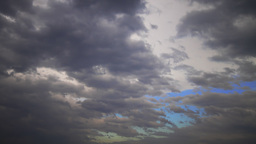 Dramatic Cloudscape, Time Lapse Footage