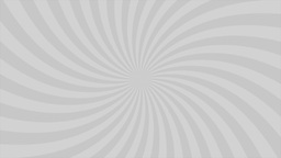 Sunburst, curved lines, gray Animation
