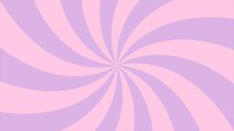 Sunburst, curved lines, pink and violet Stock Video Footage
