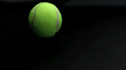 Bouncing tennis ball Footage