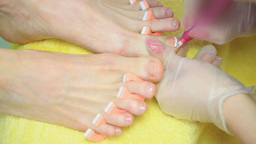 Pedicure Footage