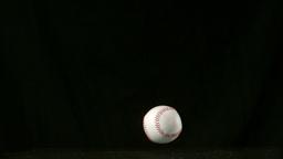 Baseball falling and bouncing Live Action