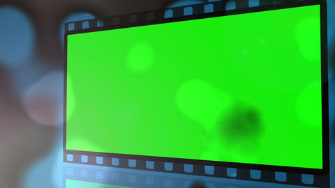 Movie strips with chroma key spaces get burnt Footage