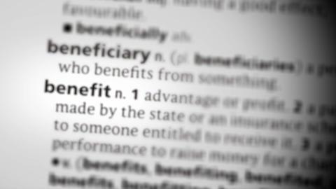 Focus on benefit Footage