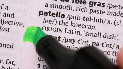 Patent highlighted in green Live Action