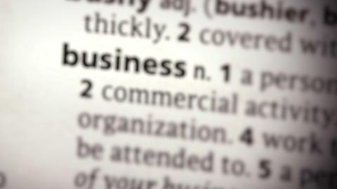 Focus on business Footage
