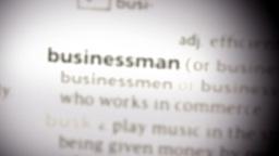 Focus on businessman Footage