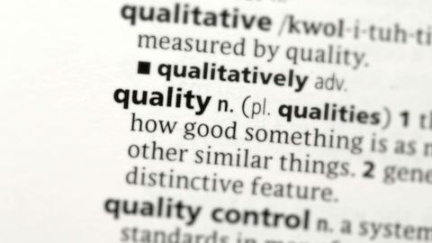 Focus on quality Footage