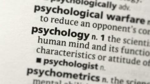 Focus on psychology Footage