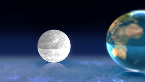 Animation of earth moon and sun Animation