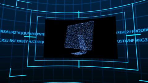 Animation with screens showing the connectivity Animation