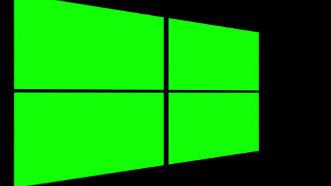 Several different green screens showing up Animation