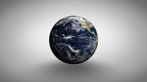 Revolving earth Animation