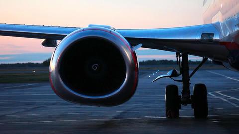 Plane engine Stock Video Footage