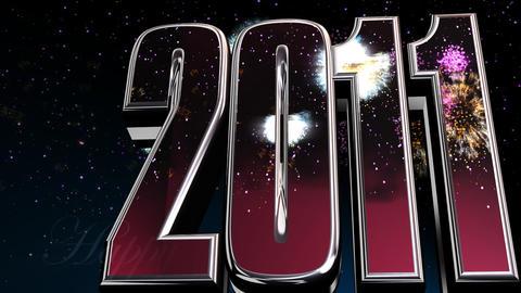 2011 intro 2 Stock Video Footage