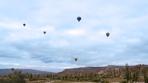 Cappadocia turkey nature baloon fly fairy chimney miracle holiday tourism 1 Footage