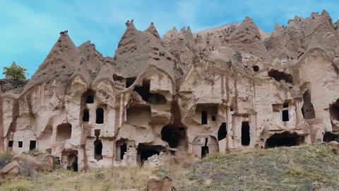 Cappadocia turkey nature cave fairy chimney miracle holiday tourism 7 Footage