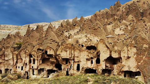 Cappadocia turkey nature cave fairy chimney miracle holiday tourism 9 Footage