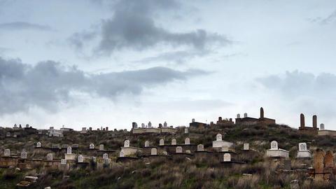 cemetery heaven graveyard timelapse Footage