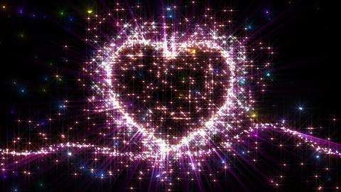 Heart Sparkle F2 Animation