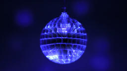 Rotating Disco Ball Stock Video Footage
