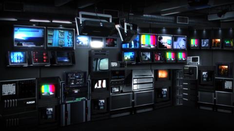 Virtual-studio-6 Stock Video Footage