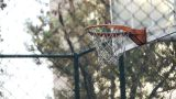 Basket Play Basketball Streetball Sport Game Action stock footage