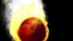 Earth In Fire Falling, Alpha Animation