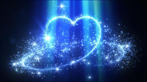 Heart Glitter 2 B1 Stock Video Footage