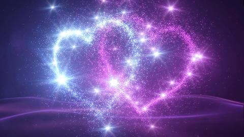 Heart Glitter 2 H2 Animation